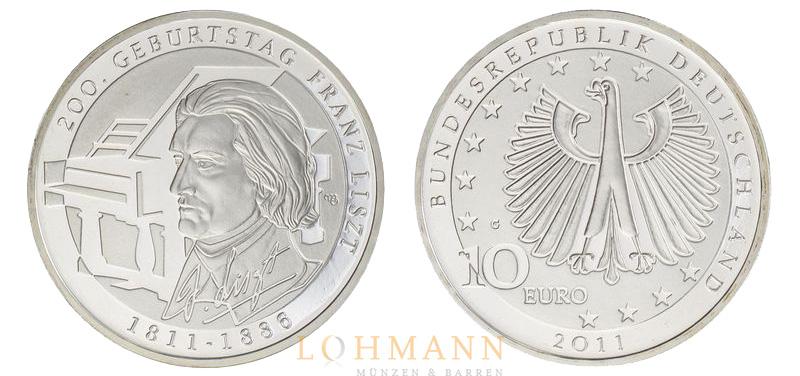 10 Euro Münzen änderung Der Legierung