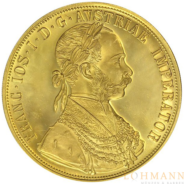 4 Dukaten - Goldmünze