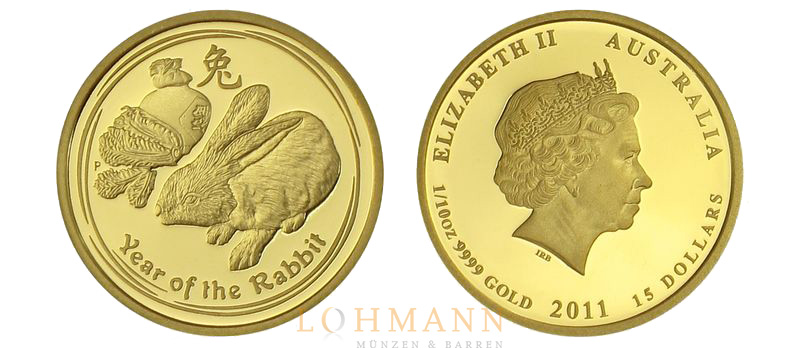 Gold Lunar Serie 2011 - Proof