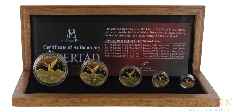 Gold Libertad - Proof Set 2006