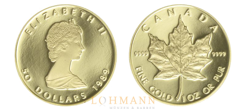 Gold Maple Leaf - Proof