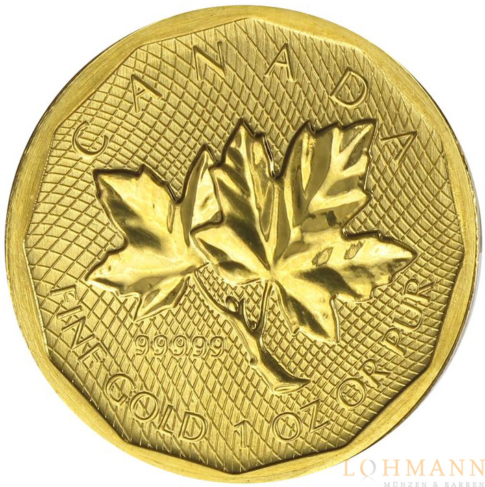 Gold Maple Leaf 2008