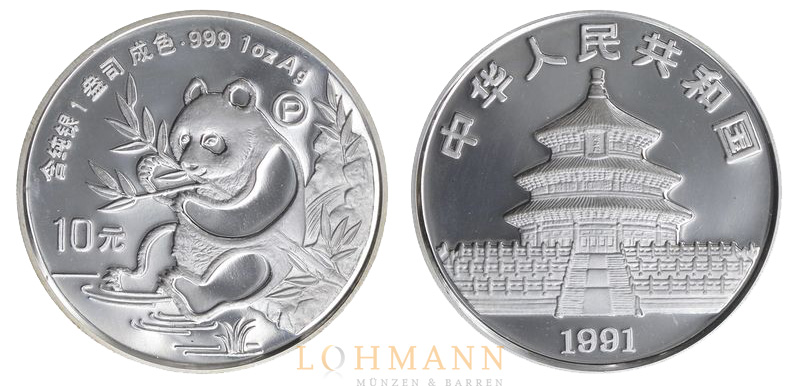 China Silber Panda - Proof